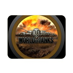 World Of Tanks Wot Double Sided Flano Blanket (mini)