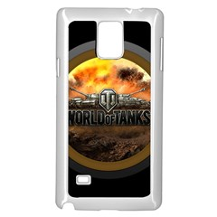 World Of Tanks Wot Samsung Galaxy Note 4 Case (white)