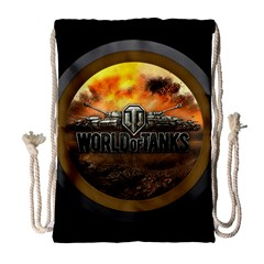World Of Tanks Wot Drawstring Bag (large)