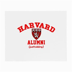 Harvard Alumni Just Kidding Small Glasses Cloth (2 Side)