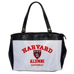 Harvard Alumni Just Kidding Office Handbags