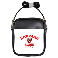Harvard Alumni Just Kidding Girls Sling Bags