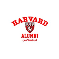 Harvard Alumni Just Kidding 5 5  X 8 5  Notebooks
