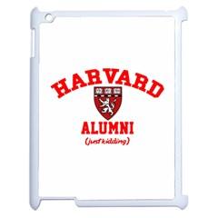 Harvard Alumni Just Kidding Apple Ipad 2 Case (white)
