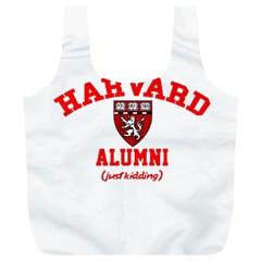 Harvard Alumni Just Kidding Full Print Recycle Bags (l)