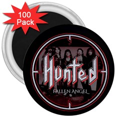Fallen Angel Hunted 3  Magnets (100 Pack)