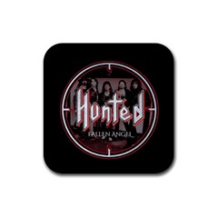 Fallen Angel Hunted Rubber Coaster (square)