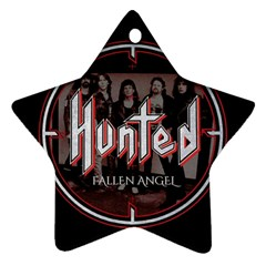 Fallen Angel Hunted Star Ornament (two Sides)