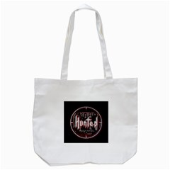 Fallen Angel Hunted Tote Bag (white)