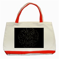 Band Of Horses Classic Tote Bag (red)