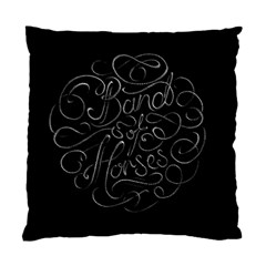 Band Of Horses Standard Cushion Case (one Side)