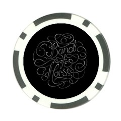 Band Of Horses Poker Chip Card Guard (10 Pack)