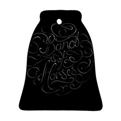 Band Of Horses Ornament (bell)