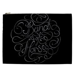 Band Of Horses Cosmetic Bag (xxl)