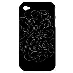 Band Of Horses Apple Iphone 4/4s Hardshell Case (pc+silicone)