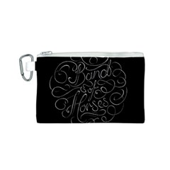 Band Of Horses Canvas Cosmetic Bag (s)