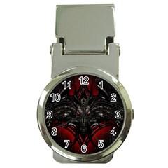 Black Dragon Grunge Money Clip Watches