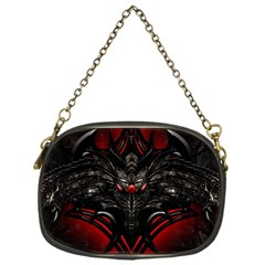 Black Dragon Grunge Chain Purses (one Side)