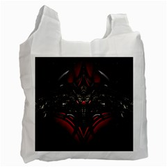 Black Dragon Grunge Recycle Bag (two Side)