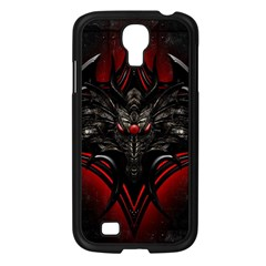 Black Dragon Grunge Samsung Galaxy S4 I9500/ I9505 Case (black)