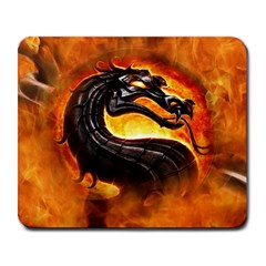 Dragon And Fire Large Mousepads