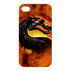 Dragon And Fire Apple Iphone 4/4s Premium Hardshell Case