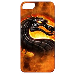 Dragon And Fire Apple Iphone 5 Classic Hardshell Case