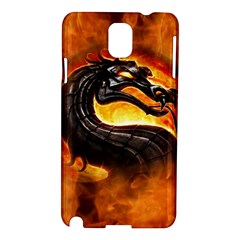 Dragon And Fire Samsung Galaxy Note 3 N9005 Hardshell Case