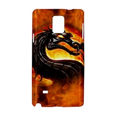 Dragon And Fire Samsung Galaxy Note 4 Hardshell Case