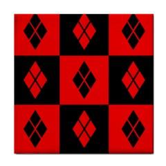 Harley Quinn Logo Pattern Face Towel