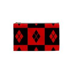 Harley Quinn Logo Pattern Cosmetic Bag (small)