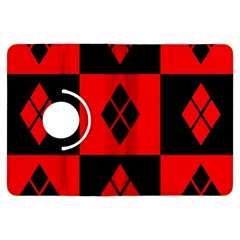 Harley Quinn Logo Pattern Kindle Fire Hdx Flip 360 Case