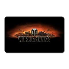 World Of Tanks Magnet (rectangular)