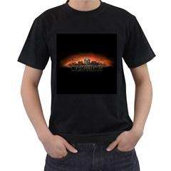 World Of Tanks Men s T Shirt (black) (two Sided)