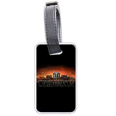 World Of Tanks Luggage Tags (two Sides)