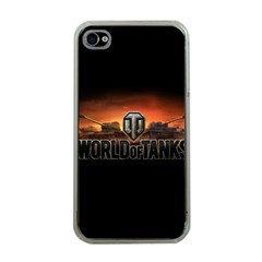 World Of Tanks Apple Iphone 4 Case (clear)