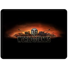 World Of Tanks Double Sided Fleece Blanket (large)