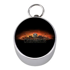 World Of Tanks Mini Silver Compasses