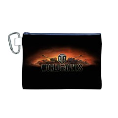 World Of Tanks Canvas Cosmetic Bag (m)