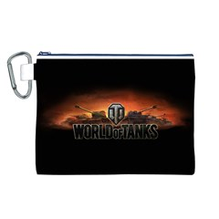 World Of Tanks Canvas Cosmetic Bag (l)