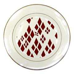 Harley Quinn Logo Porcelain Plates