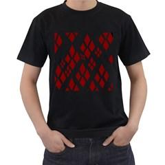 Harley Quinn Logo Men s T Shirt (black)