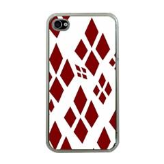 Harley Quinn Logo Apple Iphone 4 Case (clear)