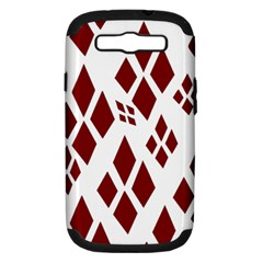 Harley Quinn Logo Samsung Galaxy S Iii Hardshell Case (pc+silicone)