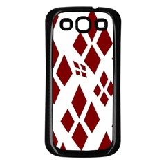 Harley Quinn Logo Samsung Galaxy S3 Back Case (black)