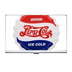 Pepsi Cola Bottle Cap Style Metal Business Card Holders