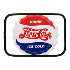 Pepsi Cola Bottle Cap Style Metal Netbook Case (medium)
