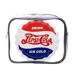 Pepsi Cola Bottle Cap Style Metal Mini Toiletries Bags