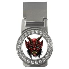 Krampus Devil Face Money Clips (cz)