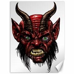 Krampus Devil Face Canvas 36  X 48